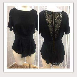 Liberty Love, blouses, black, $20each, size S.: